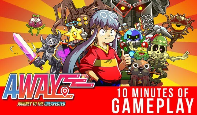 Confira um vídeo com 10 minutos de gameplay de AWAY: Journey to the Unexpected