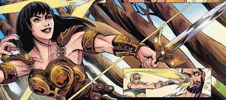 Xena a Princesa Guerreira| Serie de quadrinhos é anunciada!