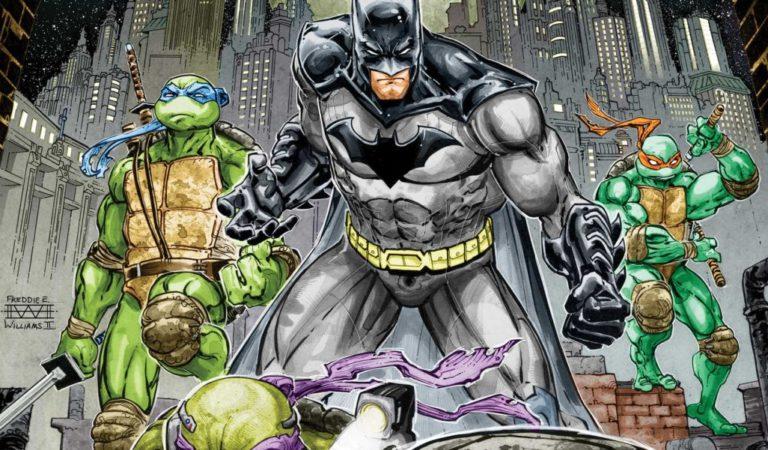 Batman vs Tartarugas Mutantes Ninja  Filme é anunciado!