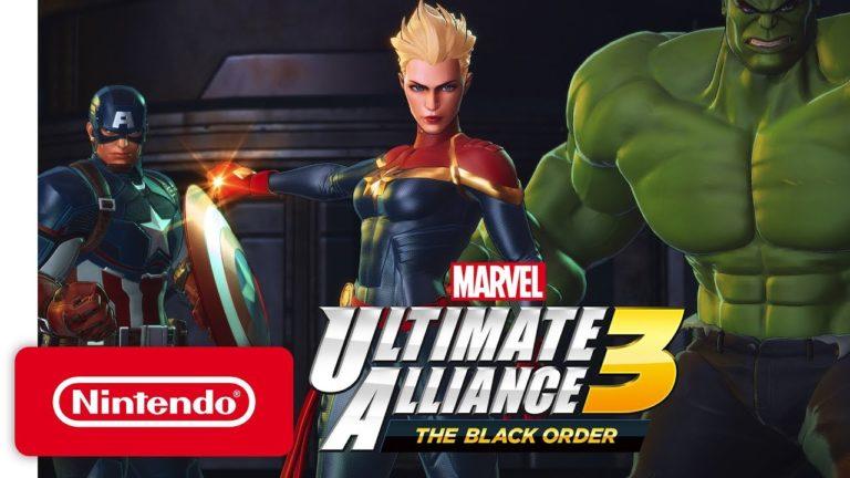 MARVEL ULTIMATE ALLIANCE 3: The Black Order recebe primeiro gameplay 1