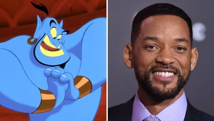 Teaser de Aladdin revela visual de Will Smith como o Gênio da Lâmpada