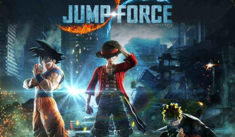 Lista de personagens de dlc para Jump Force é revelada pela Bandai Namco