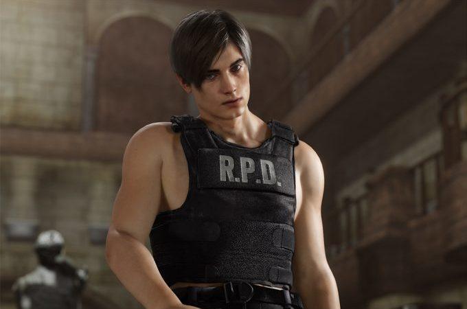 Resident Evil 2 Remake| Internet esta pegando fogo com a nova aparência do personagem Leon.