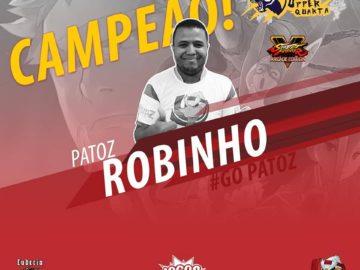 Patoz - Robinho vence o Tiger Uper Cup e garante vaga no Chile 4