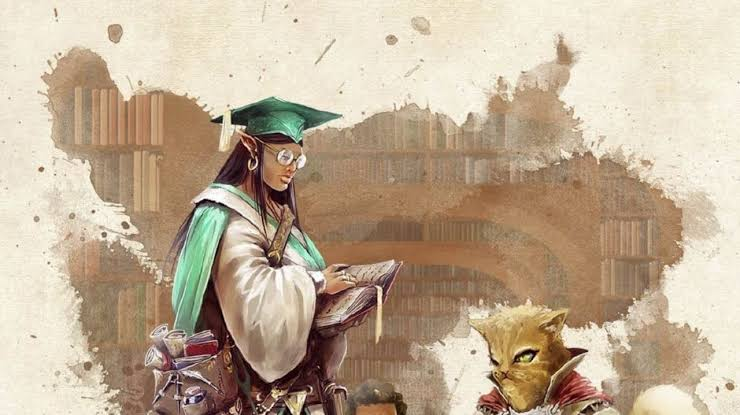 Suplemento de  Dungeons & Dragons Introduz a  Classe Scholar ( Estudioso/ pesquisador)