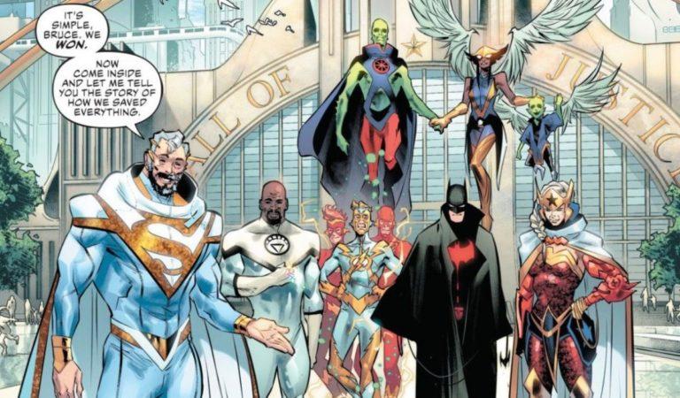 DC apresenta nova liga da justiça!