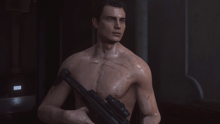 Resident evil 2| Mod deixa Leon de sunguinha!