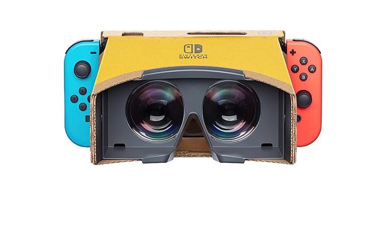 Nintendo anuncia Labo VR para Switch.