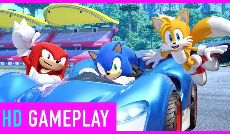 Veja um gameplay de oito minutos de Team Sonic Racing