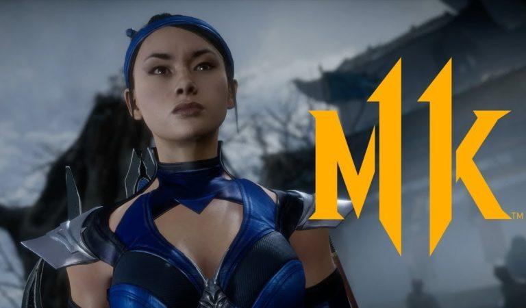 Novo trailer de Mortal Kombat 11 focado em Kitana