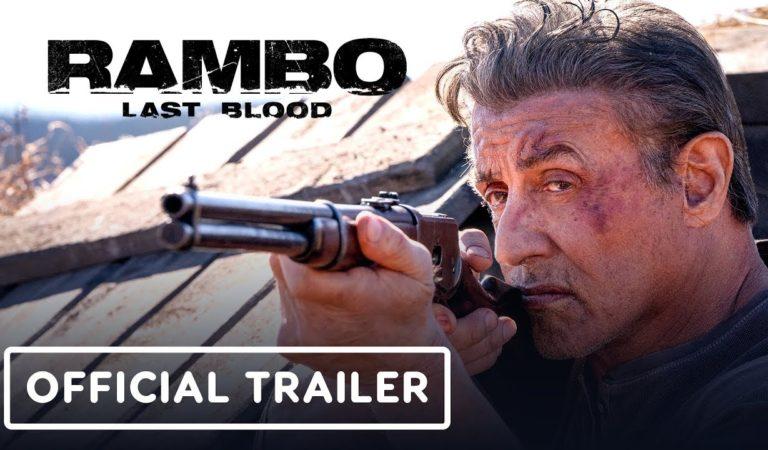 Confira o trailer de Rambo Last Blood