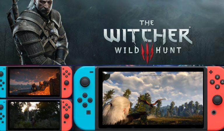 Confira Novas Imagens de The Witcher 3 no Nintendo Switch