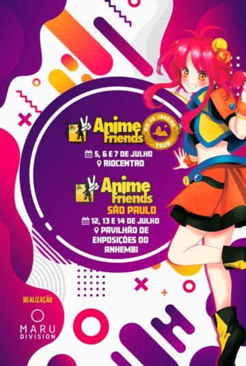 Confira as atrações do Anime Friends no Rio de Janeiro 1