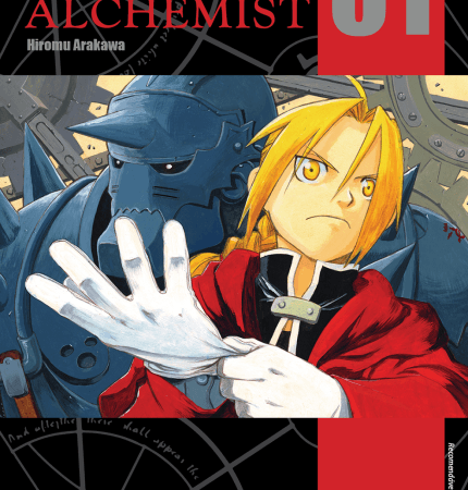 Mangás da coleção Fullmetal Alchemist em promoção na Disal