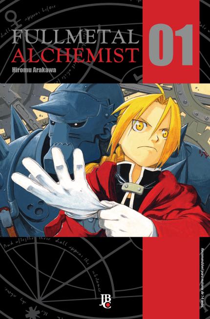 Mangás da coleção Fullmetal Alchemist em promoção na Disal 1