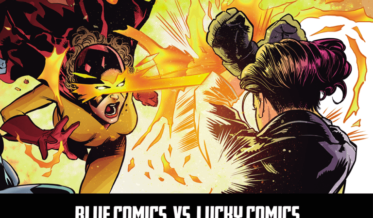 Blue Comics VS Lucky Comics | Novidades sobre o épico crossover