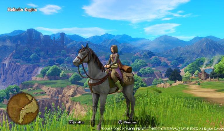 Square Enix detalha a quantidade insana de mudanças que Dragon Quest XI S receberá no Nintendo Switch