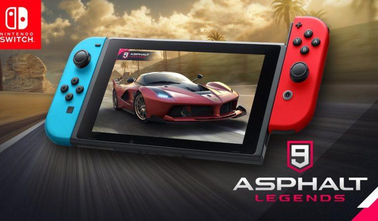 Asphalt 9: Legends é anunciado oficialmente para Nintendo Switch
