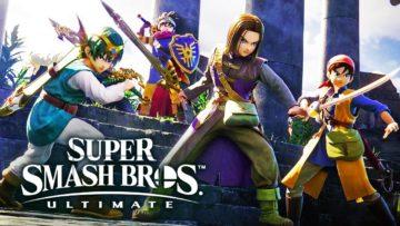 Heróis de Dragon Quest são anunciados para Super Smash Bros Ultimate 1