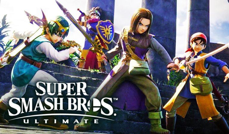 Heróis de Dragon Quest são anunciados para Super Smash Bros Ultimate