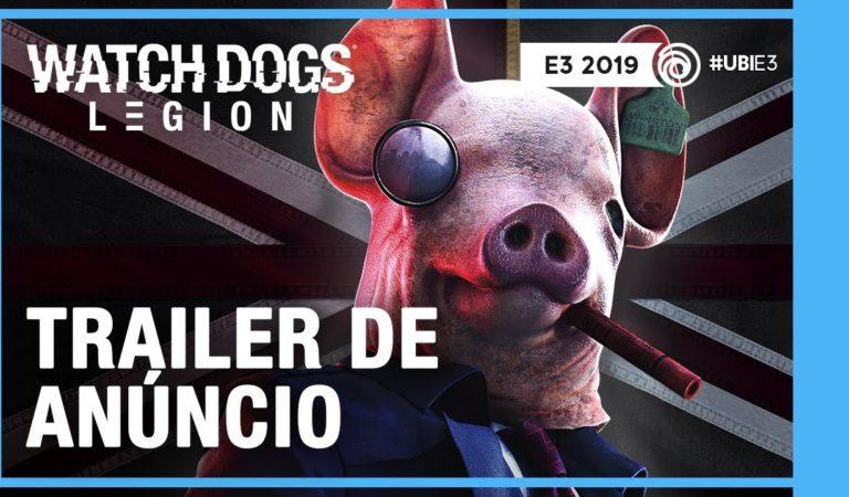 E3 2019 | Ubisoft anuncia Watch Dogs: Legion