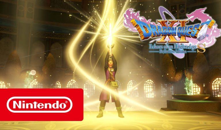Dragon Quest XI S - Definitive Edition ganha data de lançamento e novo trailer