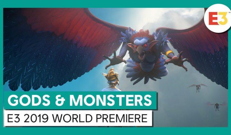 E3 2019 | Ubisoft anuncia Gods & Monsters, novo jogo de ação e aventura imerso na mitologia grega
