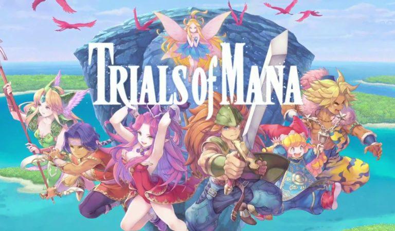 Collection of Mana lança hoje no Switch e Trials of Mana é anunciado para Switch