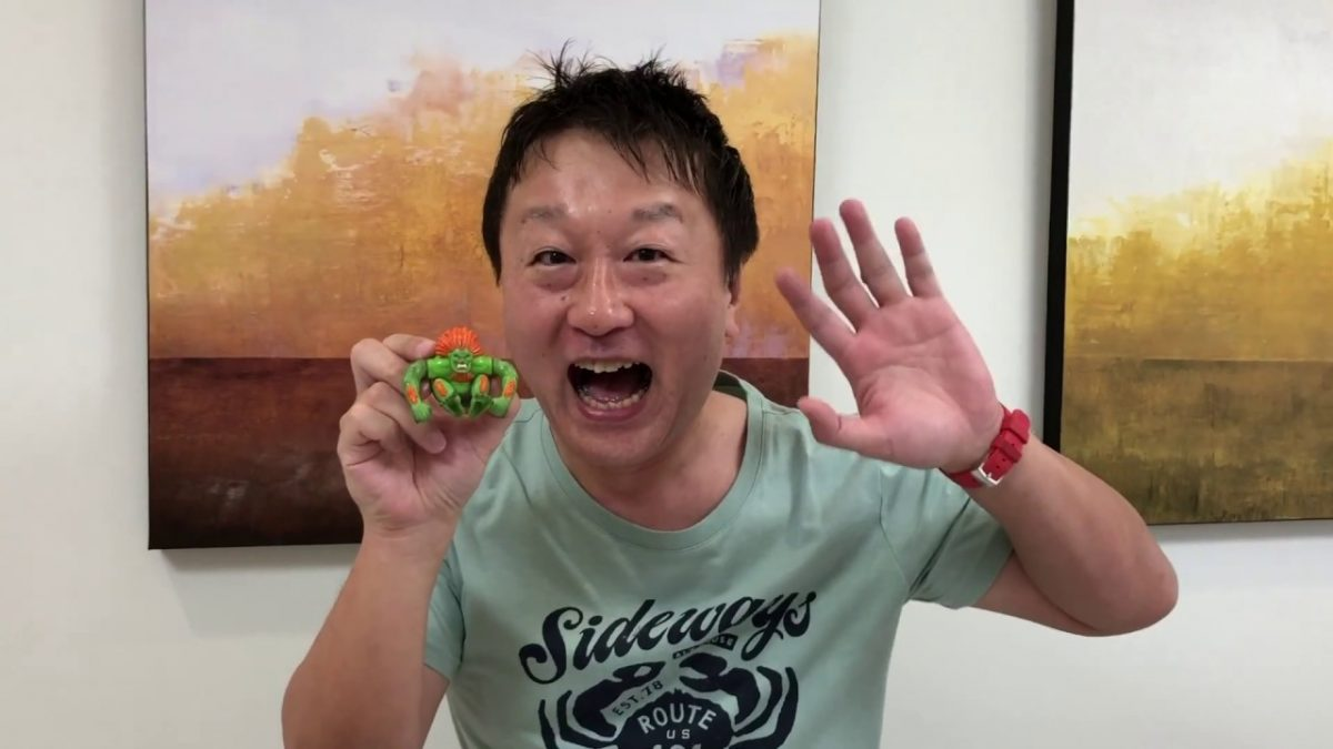 Yoshinori Ono proddutor de Street Fighter IV retornará à Brasil Game Show em 2019
