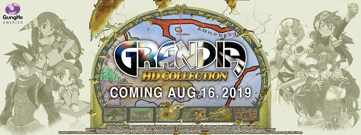Grandia HD Collection chega dia 16 de Agosto exclusivamente ao Nintendo Switch