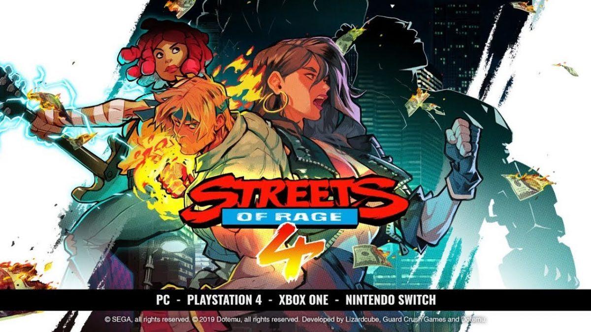 Streets of Rage 4 é anunciado oficialmente para Nintendo Switch com nova personagem