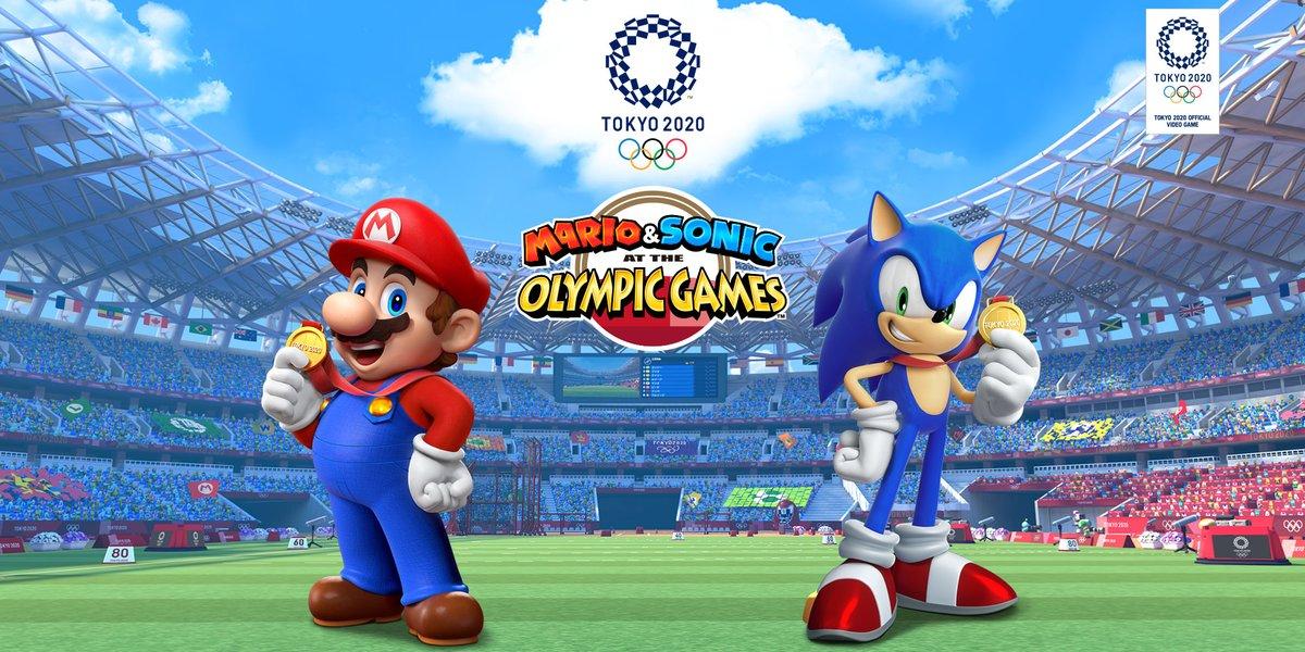 Confira a apresentação de Mario & Sonic at the Olympic Games Tokyo 2020 (Gamescom 2019)