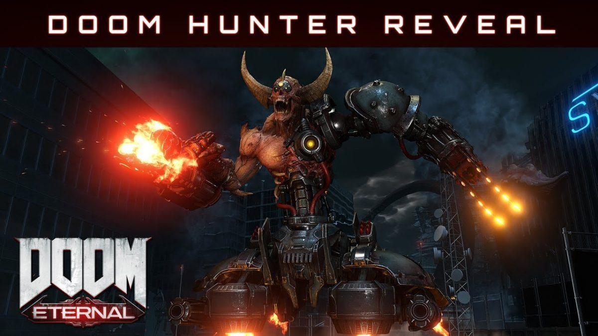 Doom Eternal ganha trailer do novo inimigo - Doom Hunter
