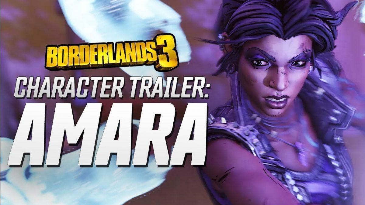 2K Games divulga novo trailer de Borderlands 3 focado na personagem Amara the Siren