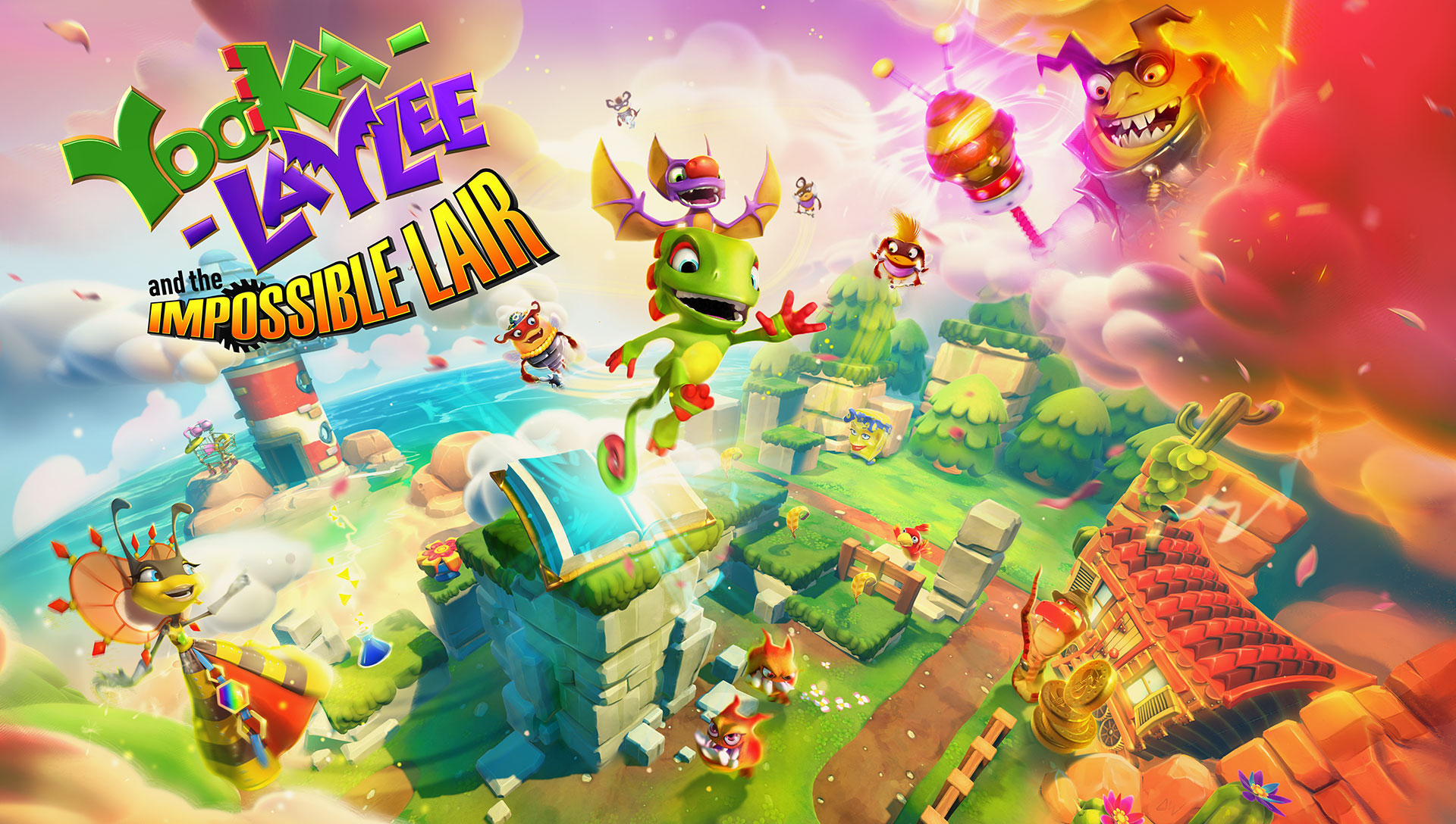 Yooka-Laylee and the Impossible Lair ganha mais 16 minutos de gameplay