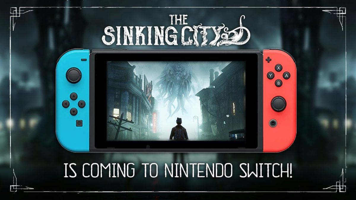 The Sinking City chegará dia 12 de Setembro ao Nintendo Switch