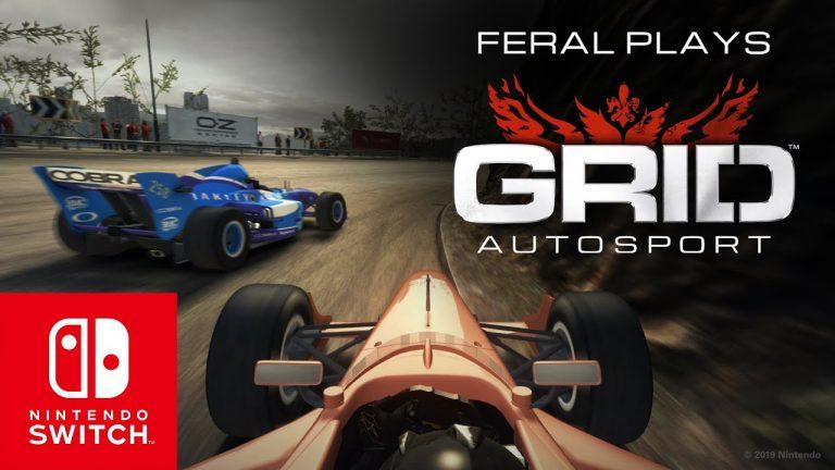 Novo gameplay oficial mostra a jogabilidade de GRID ™ Autosport no Nintendo Switch 1
