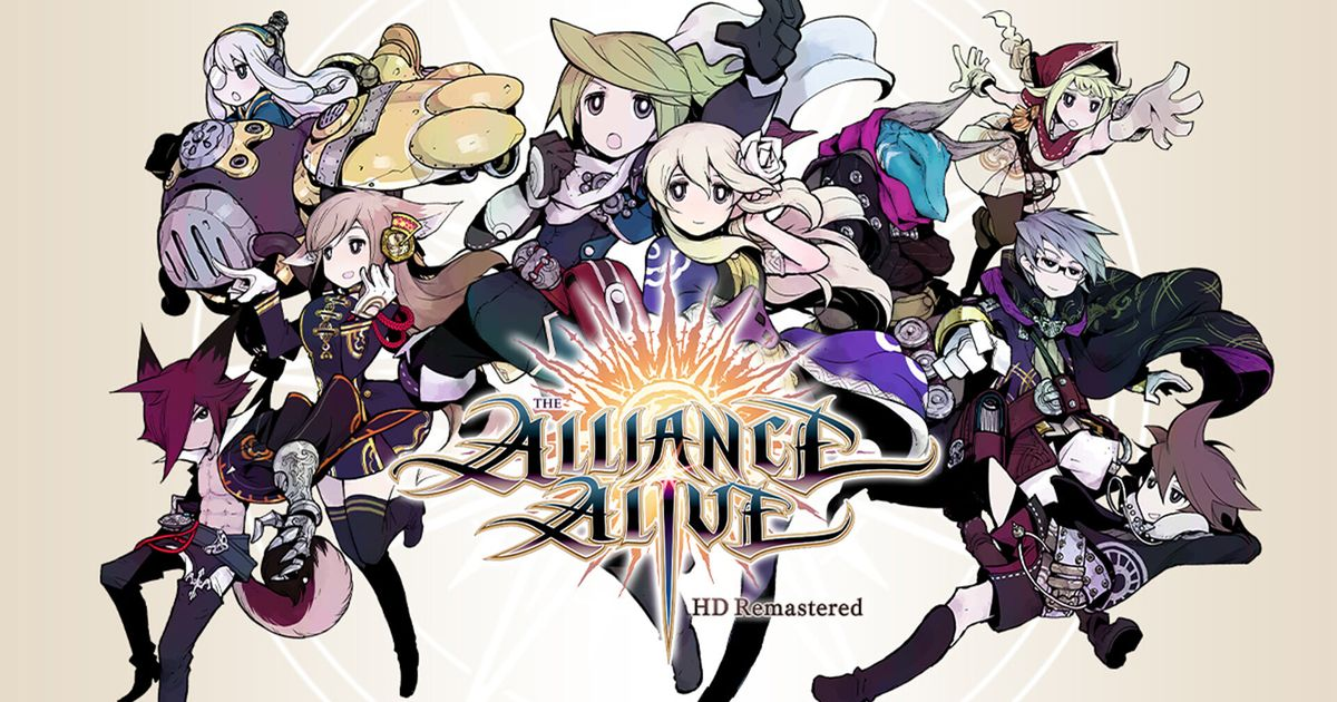 [Review/Análise] The Alliance Alive HD Remastered Nintendo Switch