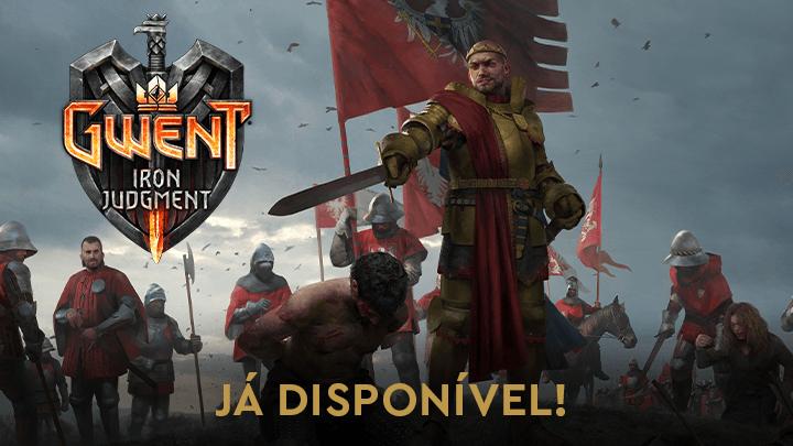 A expansão de Iron Judgement para GWENT já está disponível!