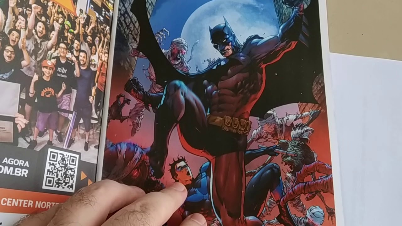 Batman 80 anos - Confira mais um unboxing especial das HQs do homem morcego