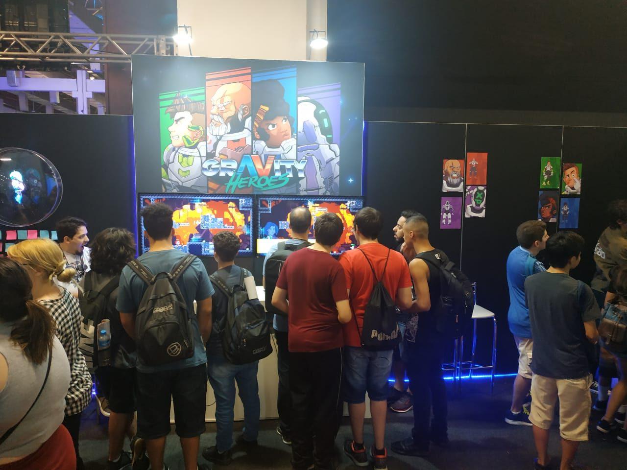 Conversamos com os desenvolvedores de Gravity Heroes na BGS 2019 e temos novas informações 4