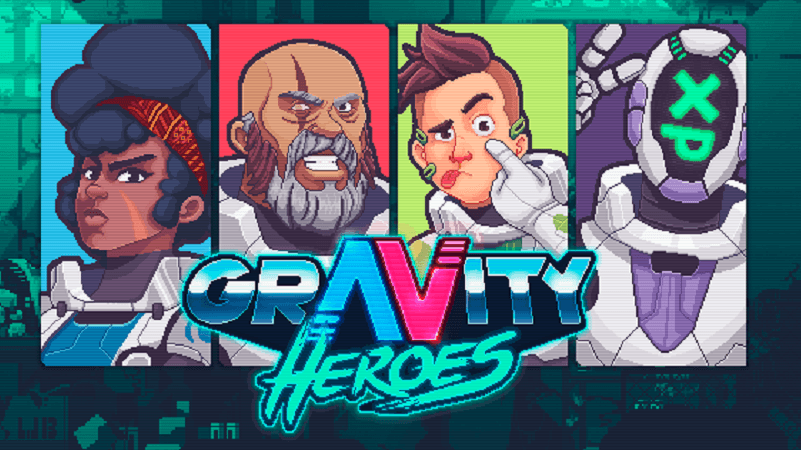 Gravity Heroes recebe data de lançamento