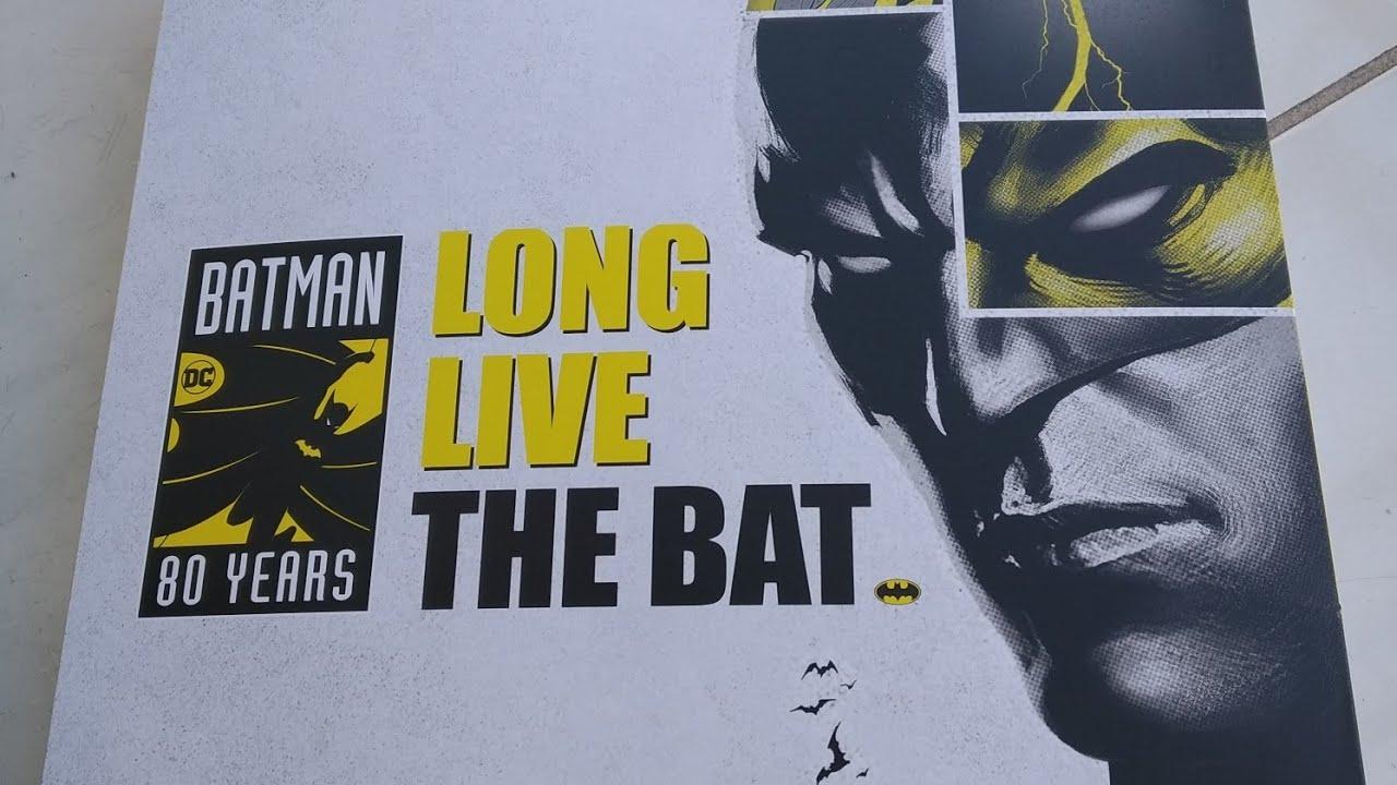 Batman 80 Anos - Confira mais um Unboxing especial da caixa de colecionador da Panini.
