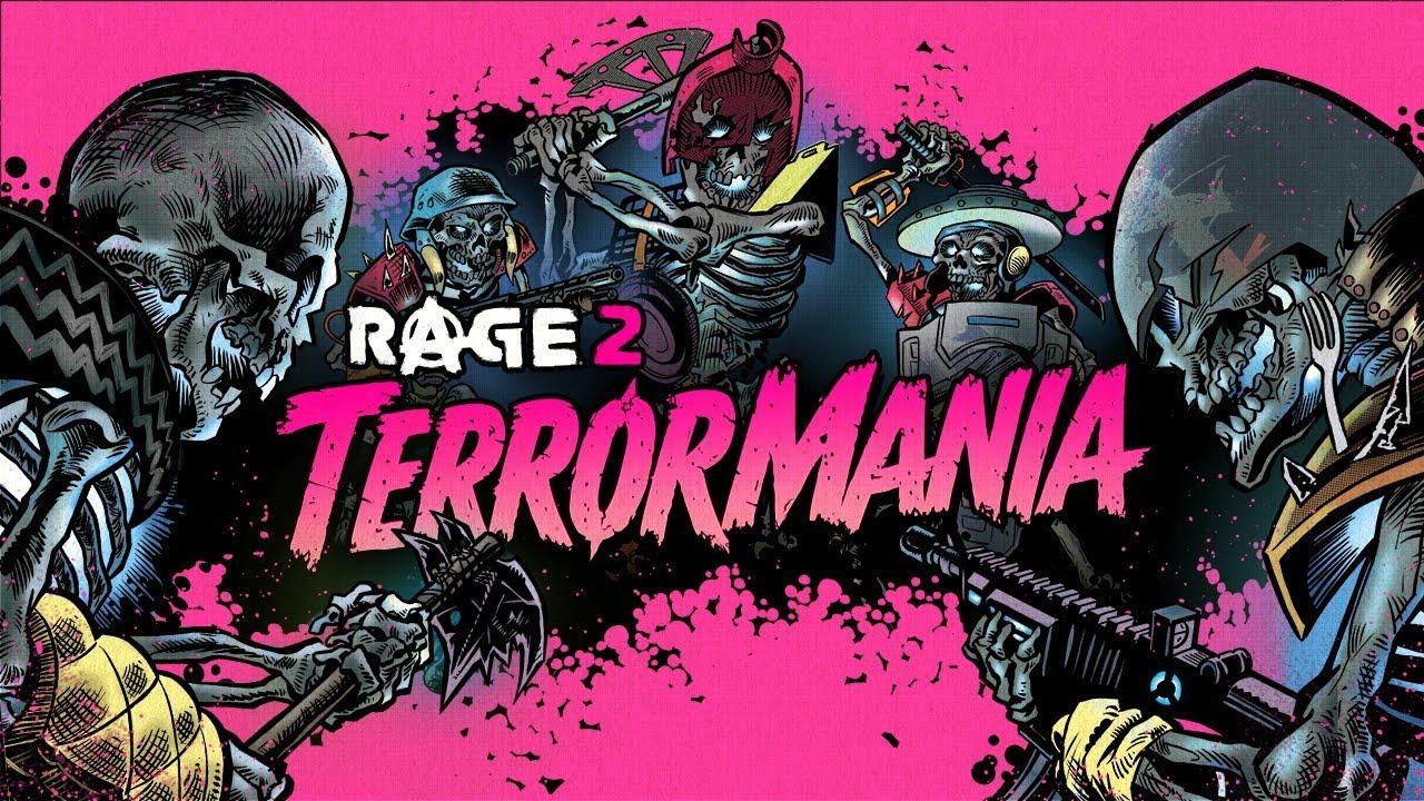 RAGE 2: TerrorMania já está disponível