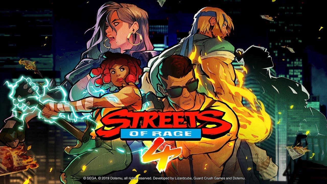 Confira o novo trailer de Streets of Rage 4 para Nintendo Switch