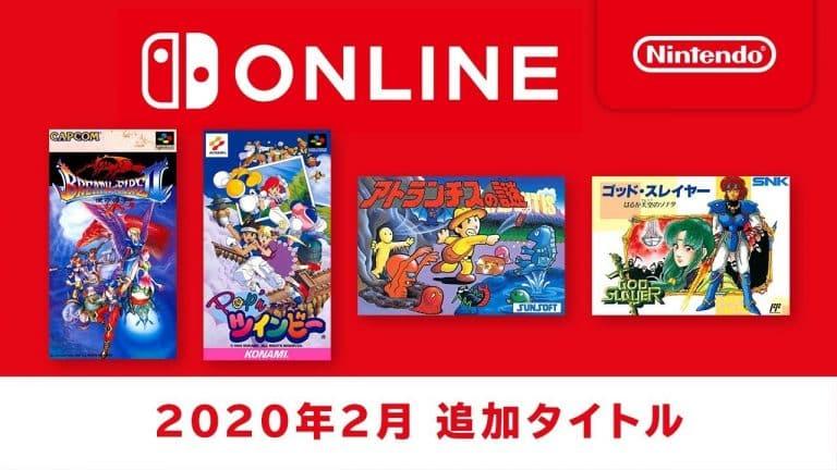 Mais 4 jogos clássicos chegarão às coleções de NES e SNES no Nintendo Switch Online em fevereiro 1