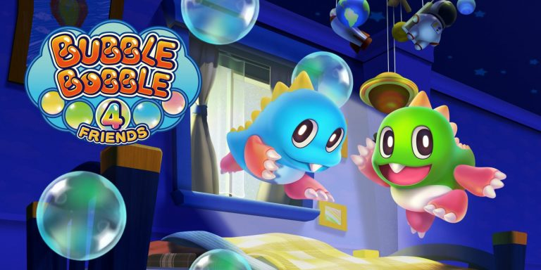 Bubble Bobble 4 Friends é o novo game da Taito no Nintendo Switch 1