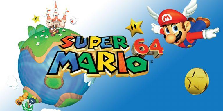 Retrô Games: Super Mario 64 1