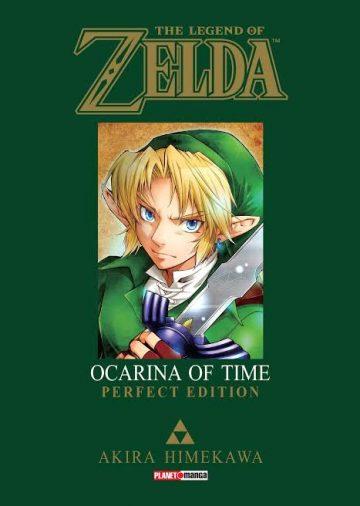 Dica de Leitura : Mangá de The Legend of Zelda Ocarina of Time 1
