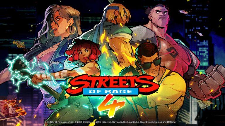 Streets of Rage 4 data de lançamento